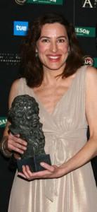 Lucina Gil, actriz y directora. Ganadora del Goya 2008.